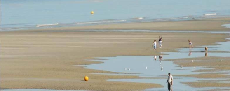 Magnifiques plages de sable fin à Cayeux en Picardie